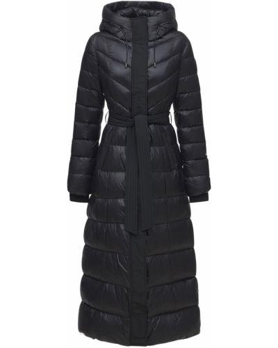 Черная куртка с капюшоном Mackage