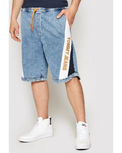 Szorty jeansowe granatowe Tommy Jeans