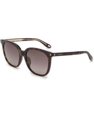 Коричневые солнцезащитные очки Givenchy