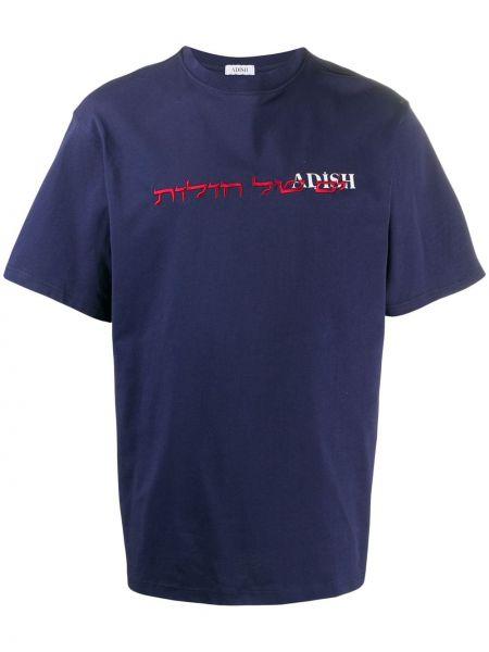 Синяя футболка Adish