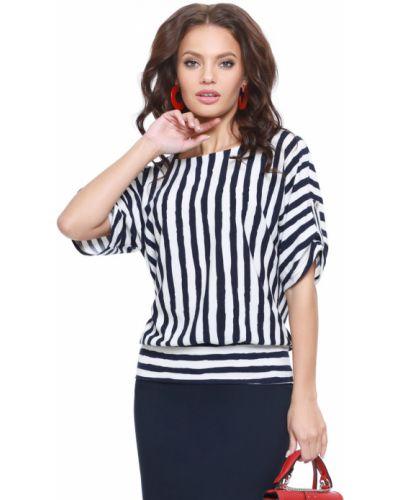 С рукавами трикотажная блузка в полоску Dstrend