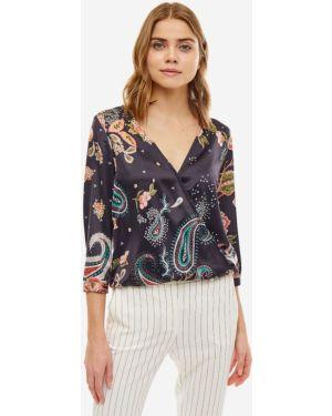Блузка с цветочным принтом с декольте Liu Jo