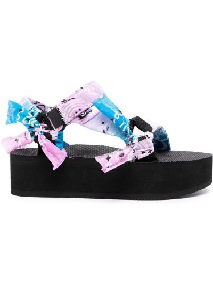 Czarne sandały z nylonu Arizona Love