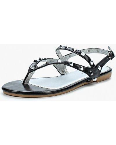 Черные сандалии Renda