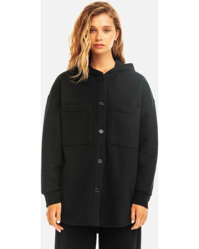 Куртка оверсайз - черная Befree