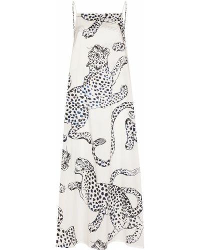 Koszula nocna bawełniana - biała Desmond & Dempsey