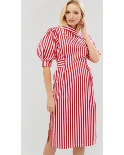 Красное платье весеннее Cardo