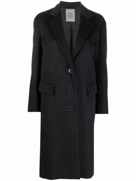 Серое пальто на пуговицах Eleventy
