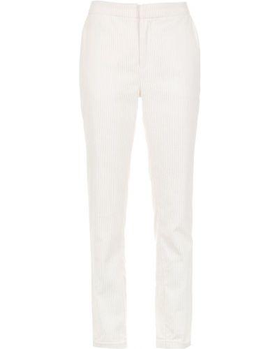 Укороченные брюки - белые Tufi Duek