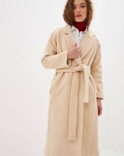 Пальто демисезонное бежевое Miss Miss By Valentina