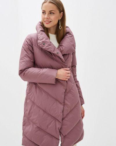 Зимняя куртка осенняя розовая Zarina