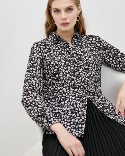 Клубная с рукавами черная блузка Concept Club