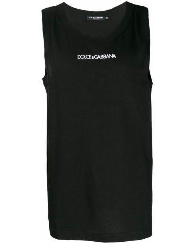 Топ черный Dolce & Gabbana