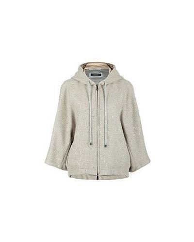 Пальто бежевое пальто Peserico