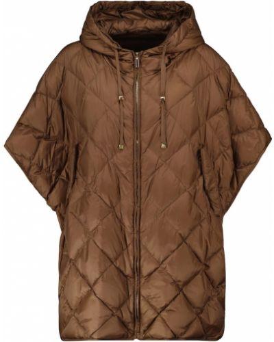 Пуховая жилетка - коричневая Max Mara