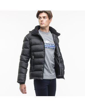 Черная куртка Lacoste
