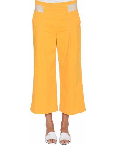 Желтые брюки Rene Lezard