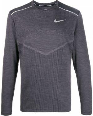 Прямой черный джемпер Nike