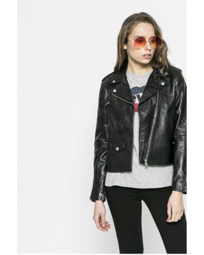 Кожаная куртка облегченная с карманами Levi's®