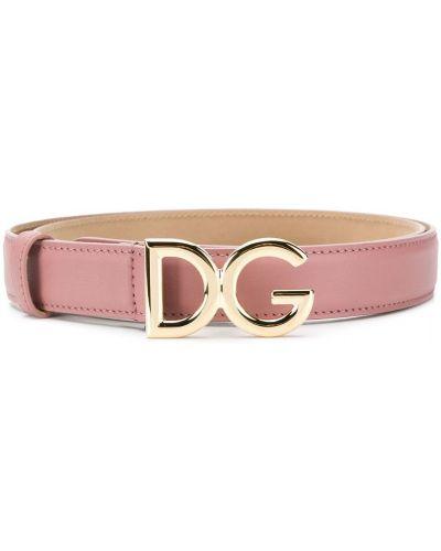 Ремень с логотипом с пряжкой Dolce & Gabbana