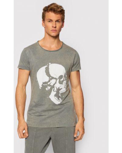 Szara t-shirt Tigha