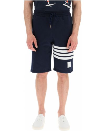 Niebieskie joggery Thom Browne