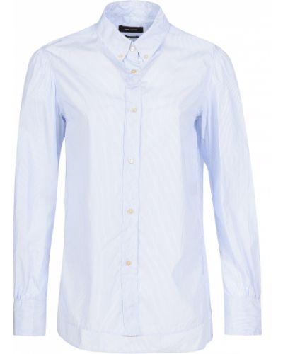 Хлопковая рубашка - голубая Isabel Marant