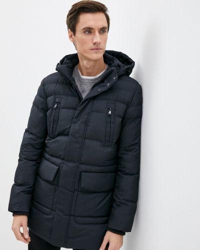 Черная демисезонная куртка Geox