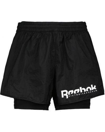 Черные шорты Reebok X Victoria Beckham