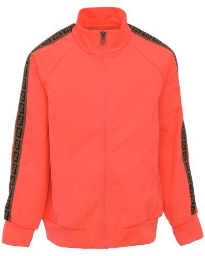 Sweter oversize - różowy Fendi