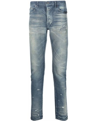 Klasyczne mom jeans - niebieskie John Elliott