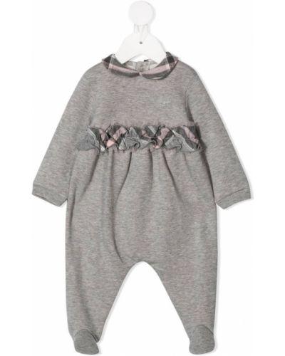 Пижамная хлопковая пижама в клетку Il Gufo