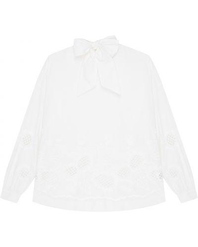 Блузка с длинным рукавом с вышивкой с воротником-стойкой Essentiel Antwerp
