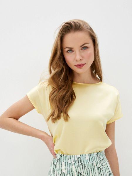 Блузка с коротким рукавом весенний желтый Gerry Weber