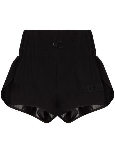 Свободные черные шорты No Ka 'oi