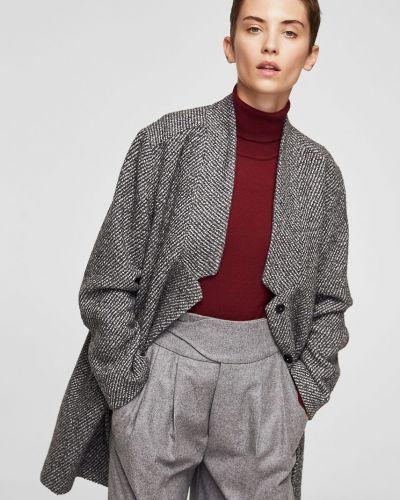 Утепленная куртка прямая Mango