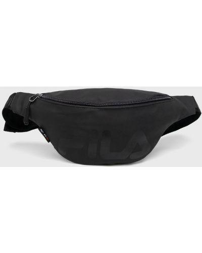 Кожаная сумка универсальный поясная Fila