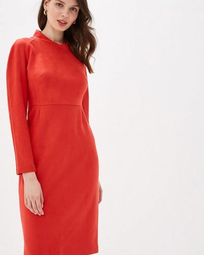 Вечернее платье коралловый красный Irina Vladi