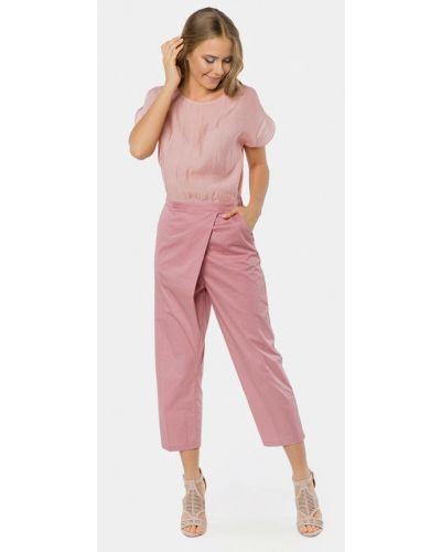 Брючный комбинезон с брюками розовый Mr520