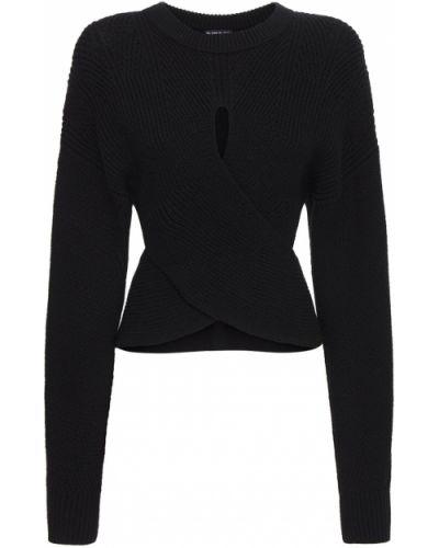 Шерстяной свитер - черный Diesel