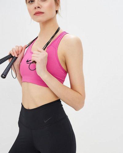 Спортивный топ розовый Nike