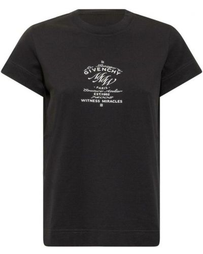 Czarna t-shirt Givenchy