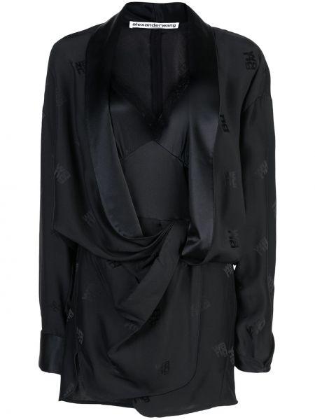 Платье кимоно с вырезом Alexander Wang