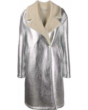Пальто оверсайз из овчины Essentiel Antwerp