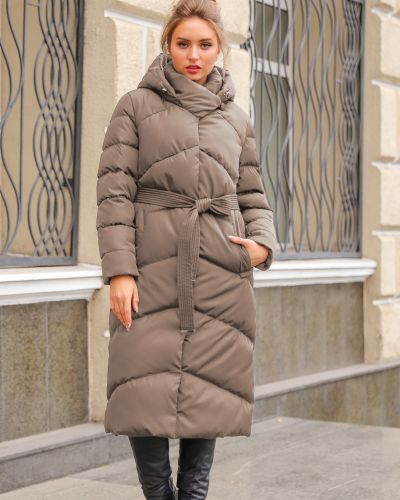 Пальто с поясом Nui Very