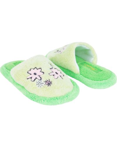 Тапочки зеленый Forio