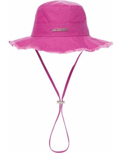 Фиолетовая шапка Jacquemus