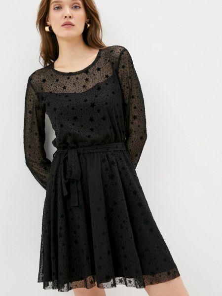 Черное вечернее платье Teratai