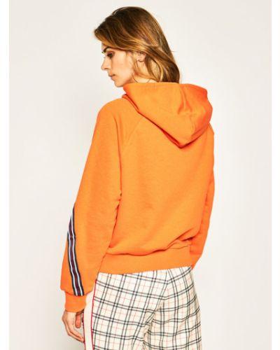 Pomarańczowa bluza Fila