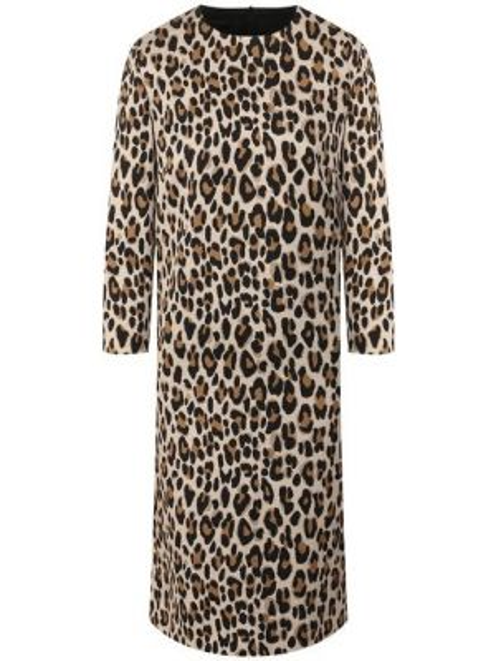 Платье леопардовое жаккардовое Escada